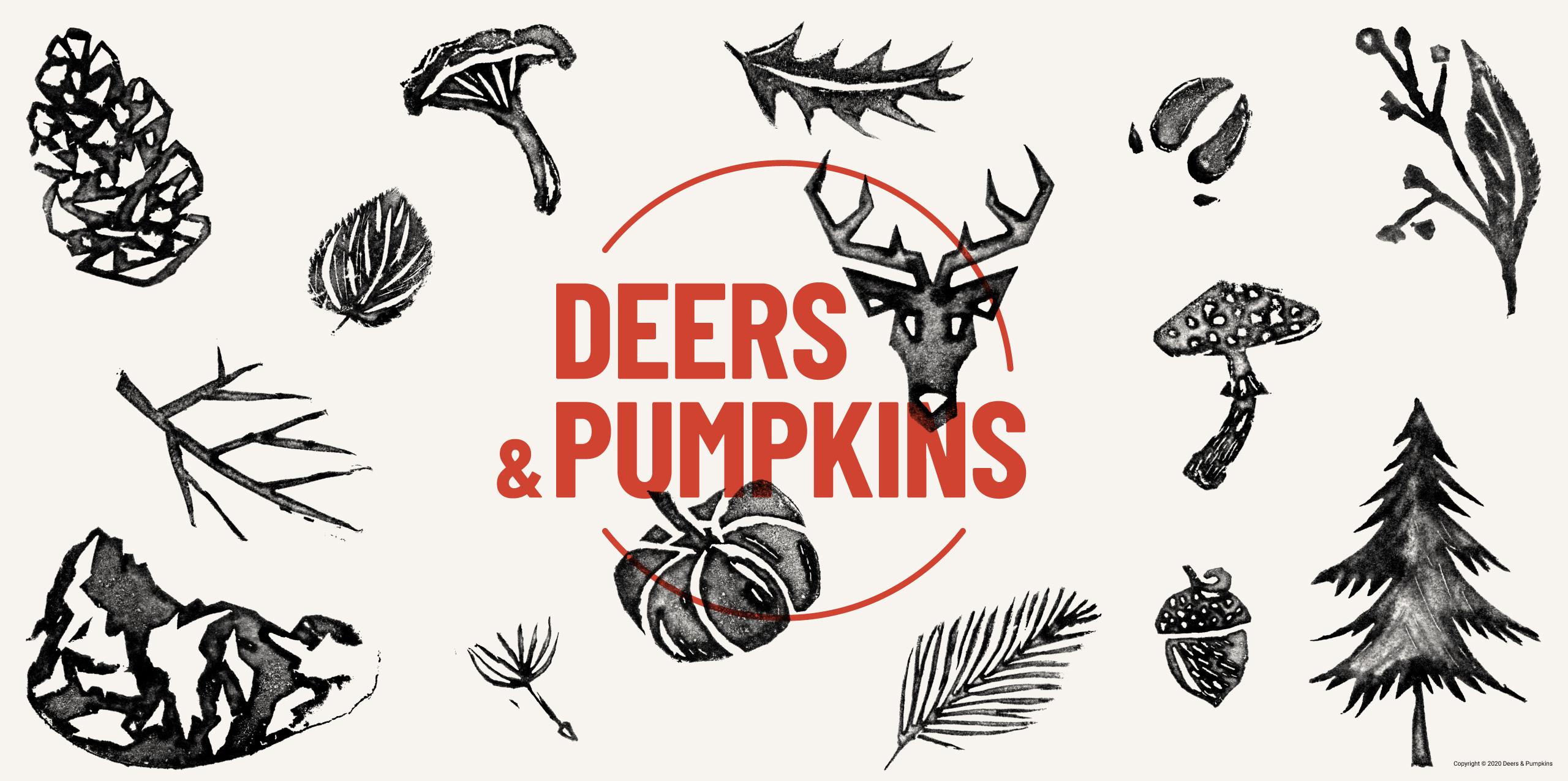 Deers & Pumpkins